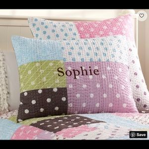Set of PBK Sophie Quilted Standard Pillow Shams